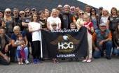 """Puoselėjame H.O.G. vertybes - mūsų """"Chapter'is"""" ir mūsų šeimos"""