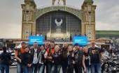 Harley Davidson 115th jubiliejus Prahoje su tautiška giesme, gimtadieniu ir medaliu!..