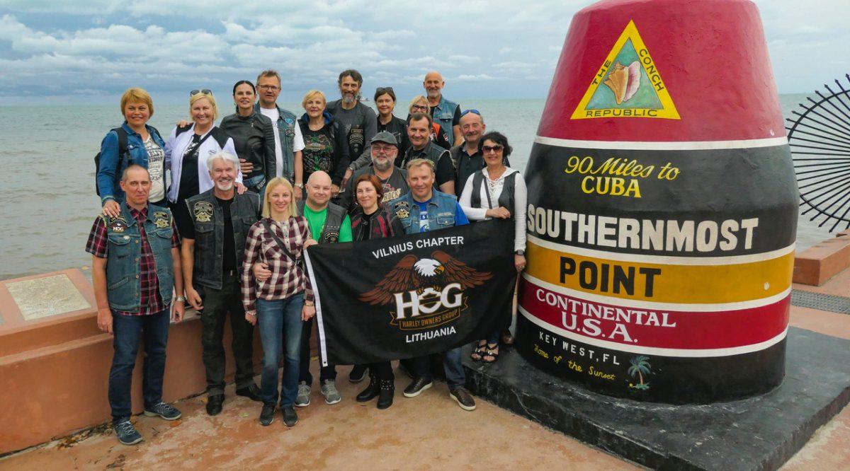 Vilniaus HOG kelionė po JAV pietines valstijas ir Daytona bike week! 2019 Kovo 10- 24 d.d.